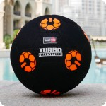 "PIŁKA BallON ""ORANGE TURBOFREESTYLER"" - size 5"