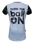 Turn the ballON GREY T-SHIRT - BallON