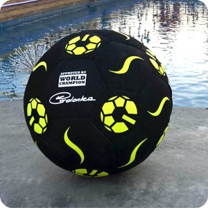 "PIŁKA BallON ""YELLOW FIRE TURBOFREESTYLER""  - size 5"