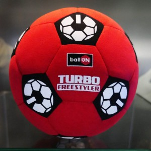 "PIŁKA BallON ""RED TURBOFREESTYLER"" - size 4.5"