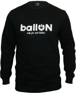CREWNECK BLACK - BallON