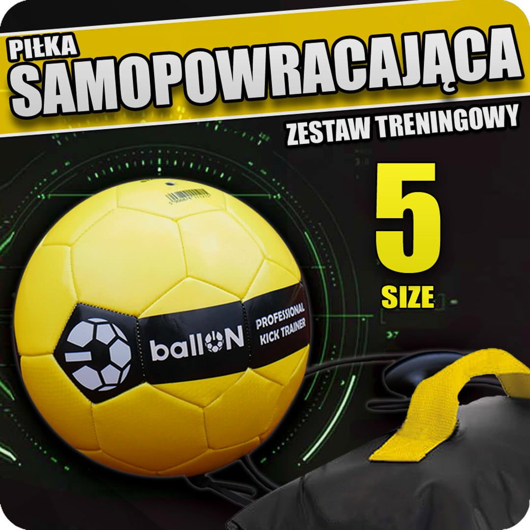 Zestaw Rozmiar 5 Pilka Ballon Pro Kick Trainer Trenuj Z Krzychem Sklep Internetowy